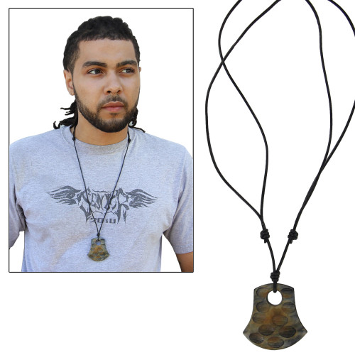Horn Handmade Gypsy Essence Pendant Necklace