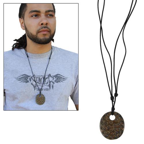 Fashion Horn Celtic Divinity Necklace Pendant