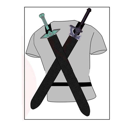 Dual Blades Dark Repulser Elucidator Sword Set
