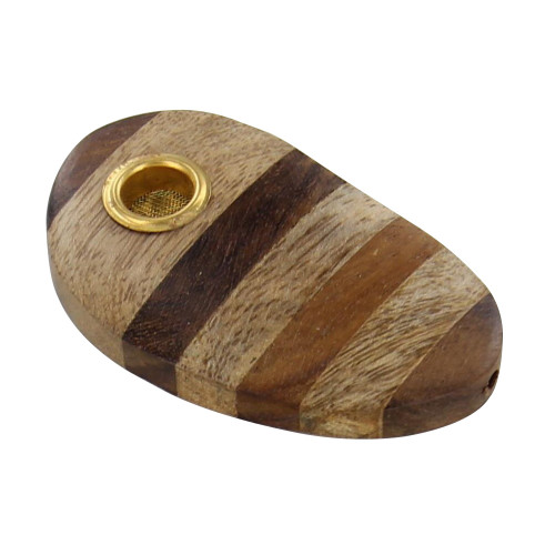 The Bath Club Wooden Multi-Layer Dwarf Tobacco Pocket Pipe