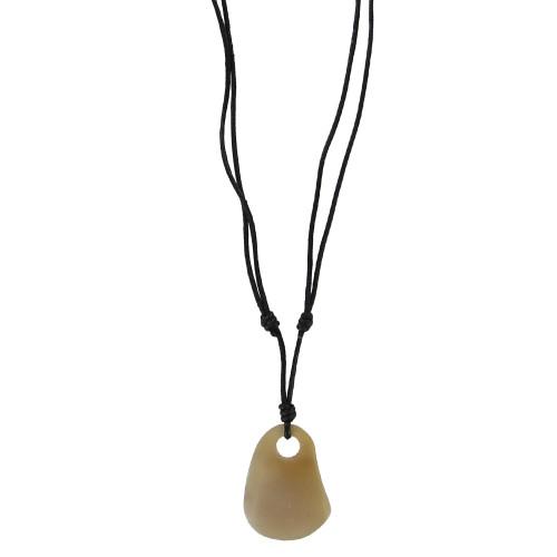 Coastal Chic Horn Fashion Pendant Necklace