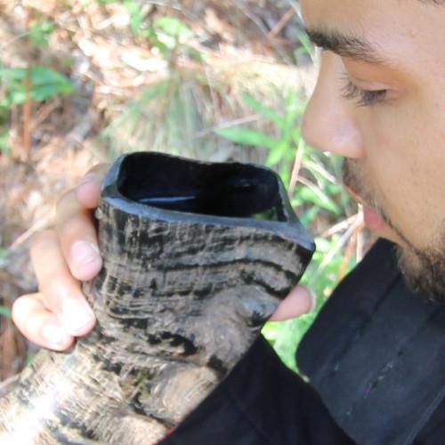 Handmade Nili-Ravi Artisan Natural Horn