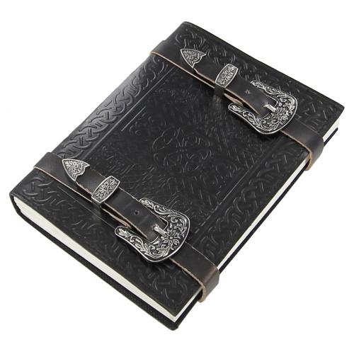 Devine Ancestry Celtic Mandala Knot Leather Journal