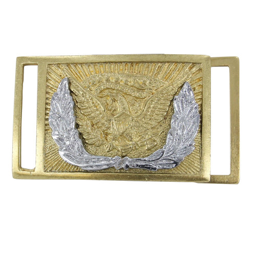 Union Officers' Civil War Brass Plate Belt Buckle Replica