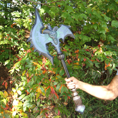 Mourner of Shadows Foam Battle War Axe