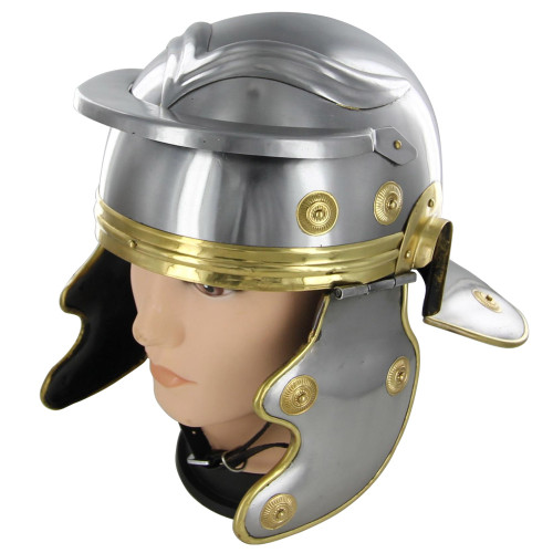 Roman Trooper Steel Galea Helmet