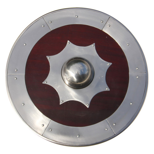 Armored Norse Land Scandinavian Round Shield