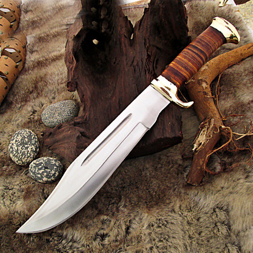 Persian Blood Hunting Bowie Knife