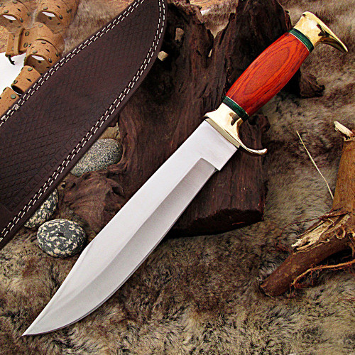 Bayou Brother Fixed Blade Bowie Knife