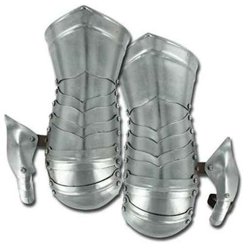 Medieval Knights Forged Mitten Cuff Gauntlet Set
