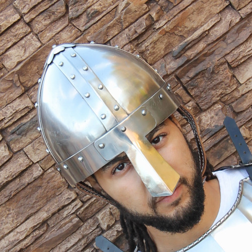 Medieval 18g Spangenhelm Combat Helmet