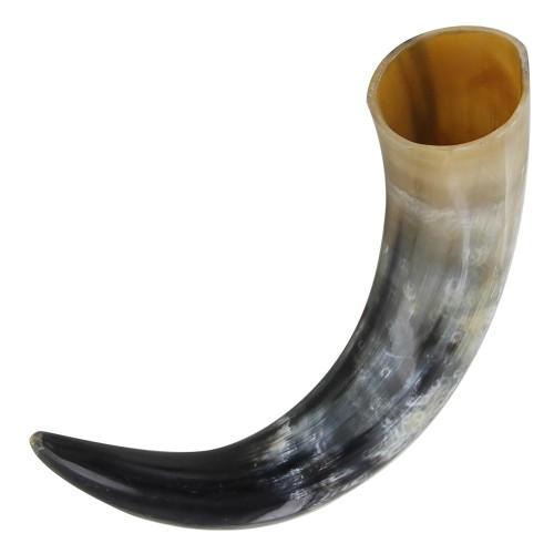 Toast to Valhalla Viking Drinking Horn