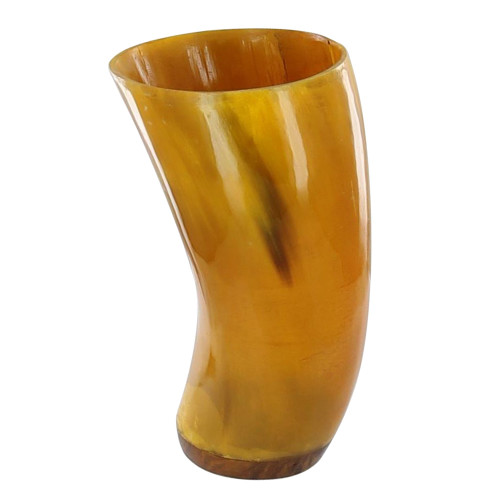 Drink of the Gods Handmade Horn Tumbler