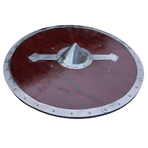 Handcrafted Viking Legacy Battle Shield