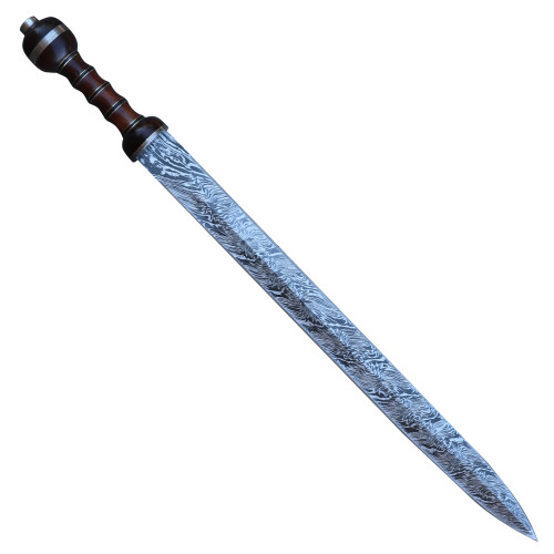 Roman XV Apollinaris Custom Damascus Gladius Sword