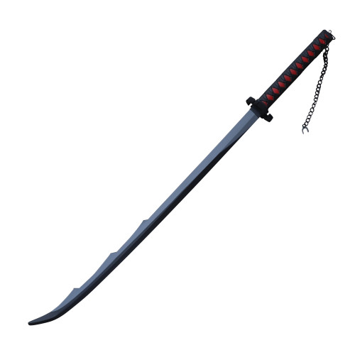 Training Latex Rubber Foam Battle Sword Larp and shoulder strap For Cosplay