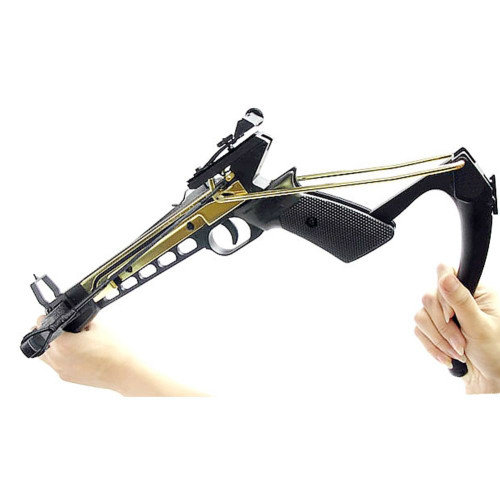 Crossbow 80lbs Aluminum Self Cocking Archery Pistol