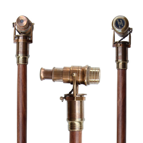 Would Be Lost Without You Steampunk Walking Cane