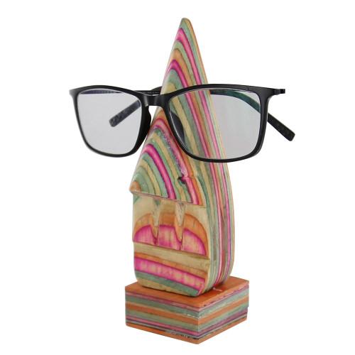 Handmade Eyeglass Sunglass Wooden Stand