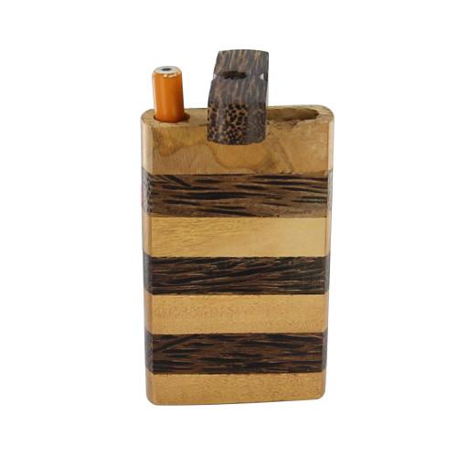 Wooden Cigarette Kalenjin Tobacco Case Dugout