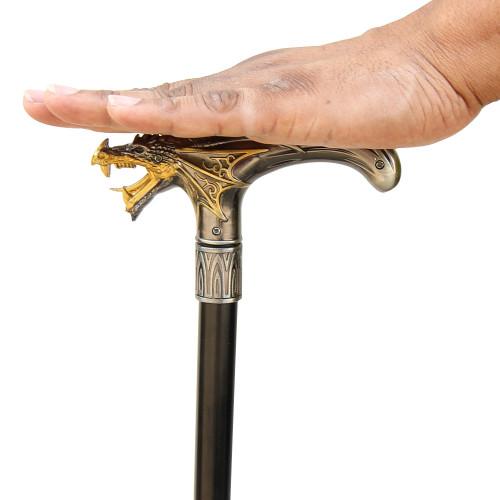 Stylish Temple Guardian Sword Cane