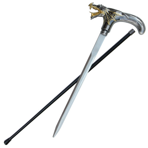 Stylish Temple Guardian Sword Cane