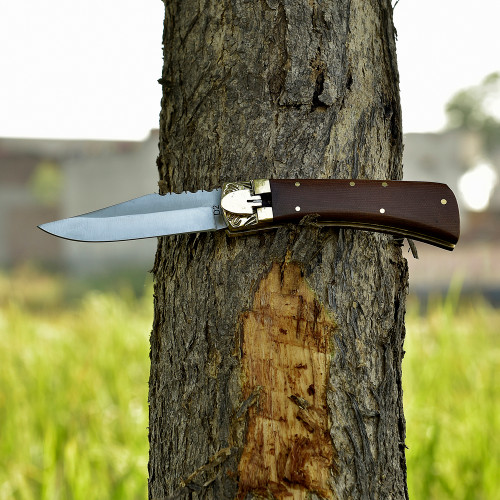Lever Lock Beaumont Country Automatic Knife