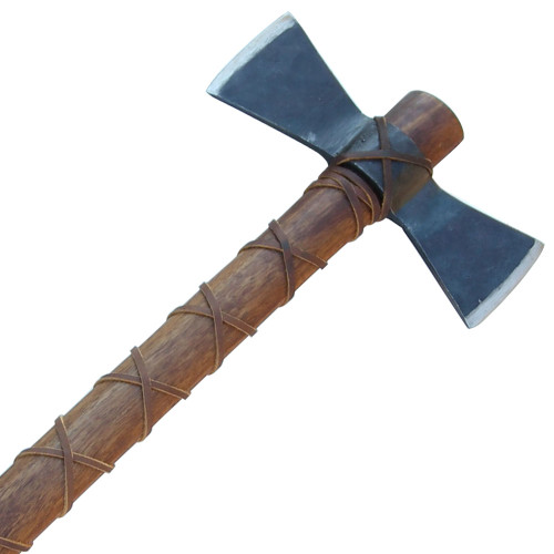 Hand Forged Fury of Atla Viking Axe