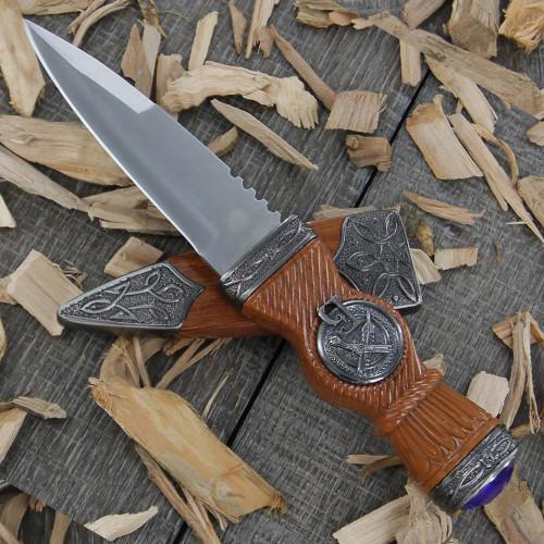 Scottish Gaelic Sgian Dubh Dirk Dagger Knife