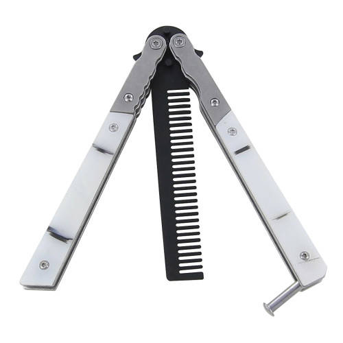 Training Snowpack Comb Butterfly Knife