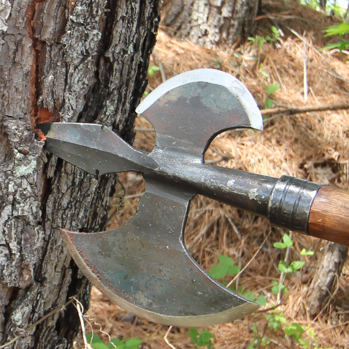 Hand Forged Viking Invasion Battle Axe