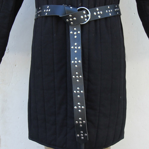 Crusaders Cross Leather Handmade Belt
