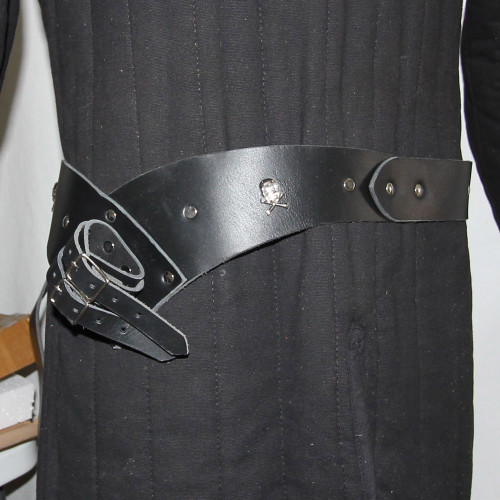 Leather High Seas Pirate Handmade Sword Belt