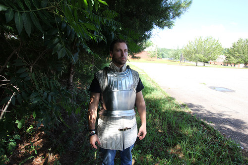 Fluted Gothic Breastplate  Medieval Armour