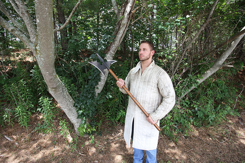 18th Century Medieval Hand Forged Sergeants Halberd