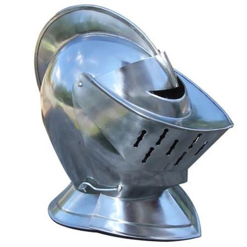 Closed European Steel Helmet  with  liner