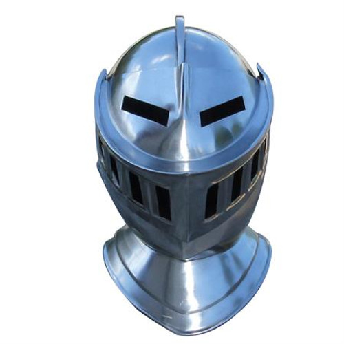 Mens Closed Knight Armour  Helmet