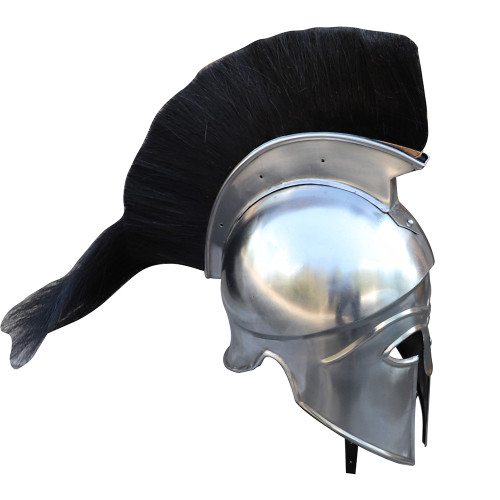 Ancient Greece Italo-Corinthian Helmet with Black Plume