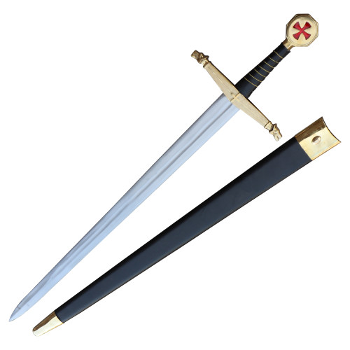 Prestigious Templar Knights Battle Ready Long Sword