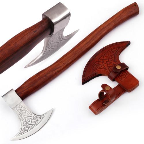 Viking Dragon Slayer Norse Dane Battle Axe | Plain Handle |