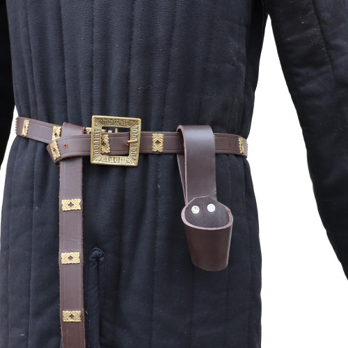 Leather Weapon Belt Hanger Holster Accessory