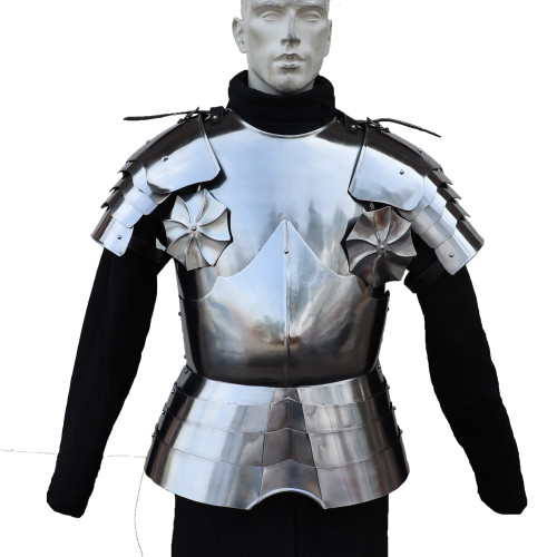 Medieval Warrior Knights Crusader Cuirass Chest Plate