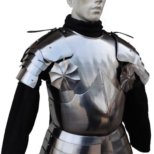 Medieval Warrior Knights Crusader Cuirass Chest Plate