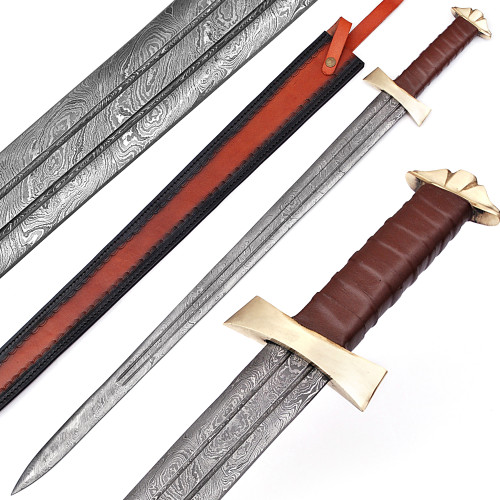 Damascus Viking Warrior Sword