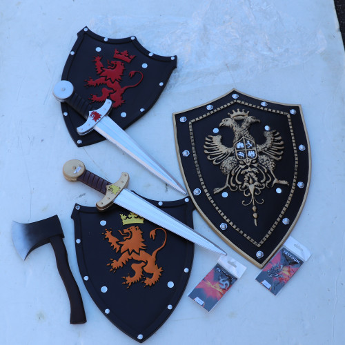 KIDS Themed Fun Knight Foam Weapon Bundle Set