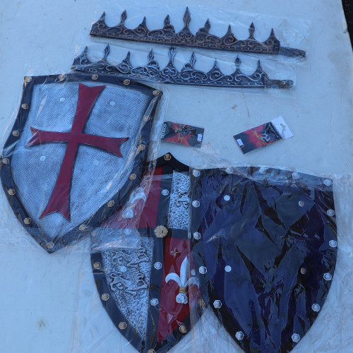 KIDS Themed Fun Medieval Knight Foam Weapon Bundle Set