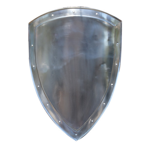 14th Century Medieval Functional Historical Replica Solid Steel Heater Shield