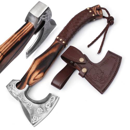 Norse King Functional Medieval Viking Bearded Axe