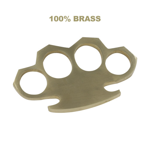 Punch Out 100% Pure Brass Knuckle Paper Weight Accessory