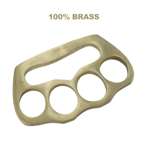 Bear Fist 100% Pure Brass Heavy Duty Knuckle Paper Weight Accessory